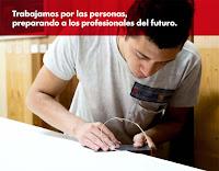 Trabajamos por las personas, preparando a los profesionales del futuro.