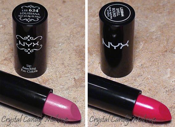 Nouvelle formule rouges à lèvres NYX - NYX Lipstick New and old formula