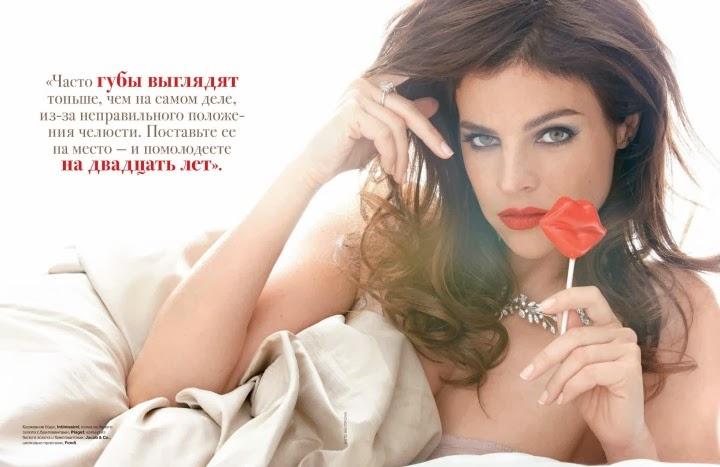 Julia Restoin Roitfeld HQ Pictures Tatler Russia Magazine Photoshoot February 2014