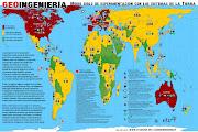 América: Mapa del continente con todos los países mapa de america incluye america del norte america central america del sur