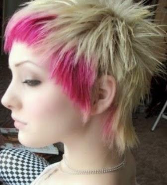 Lihat Yuk Model Dan Gaya Rambut EMO Gaya Dan Model Rambut - Gaya rambut pendek emo