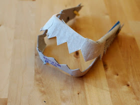 make egg carton teeth- fun kids craft!