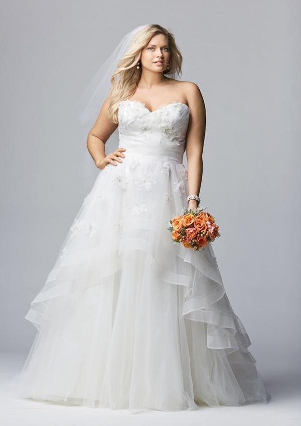 Casual Beach Wedding Dresses Plus Size 92 Cute beauty plus size wedding