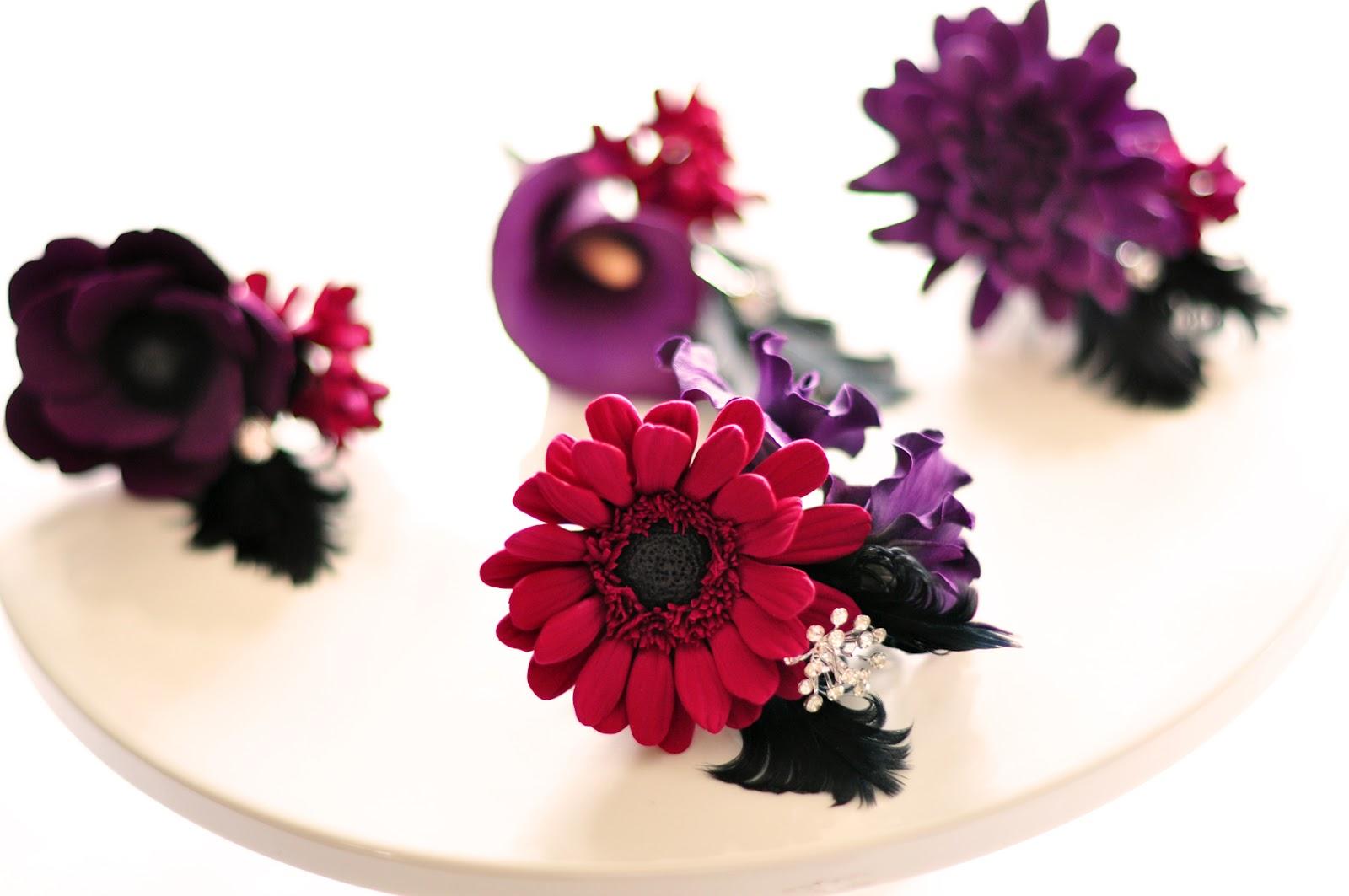 1920s Vintage Glam Inspired Wedding Flowers - DK Designs