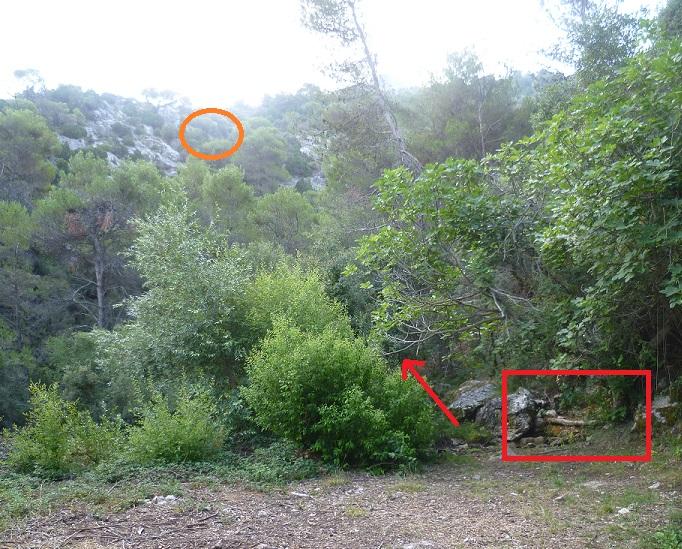Cueva de la hoya los villares ja n localizaci n de la - Los villares jaen ...