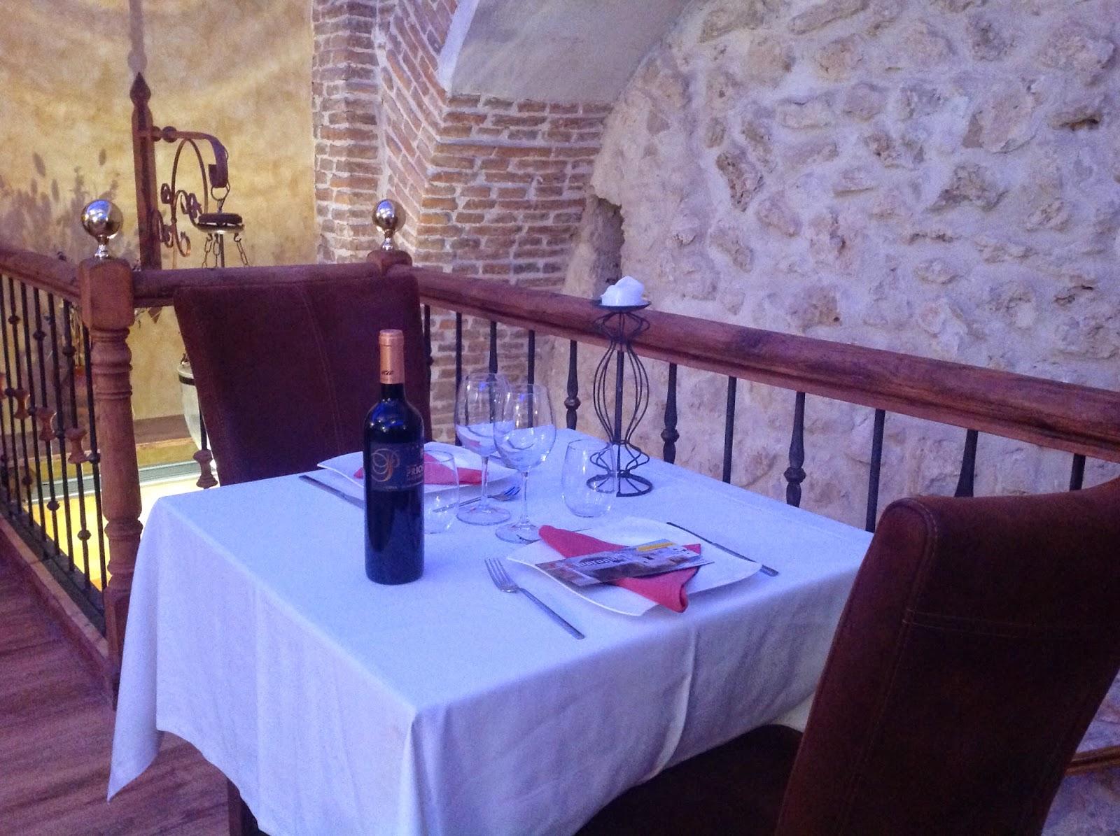 Visita de Stimuls al restaurante El Alboroque Portillo