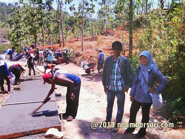 Update Pembangunan Jalan Tenggir Ngambarsari