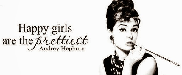 A little wisdom by Audrey...