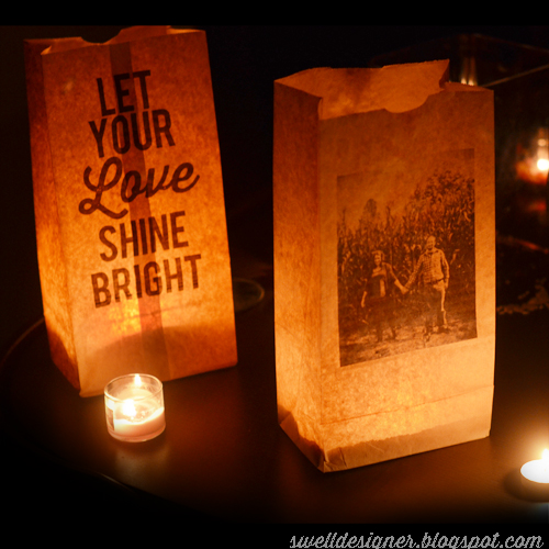 image gallery homemade paper bag luminaries