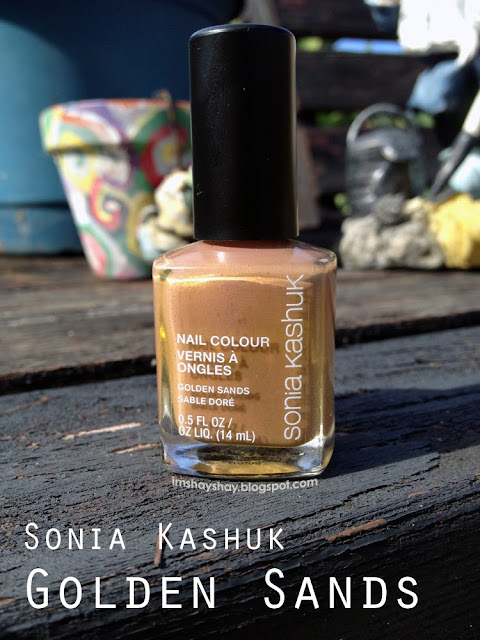 "Sonia Kashuk ""Golden Sands"" Review 