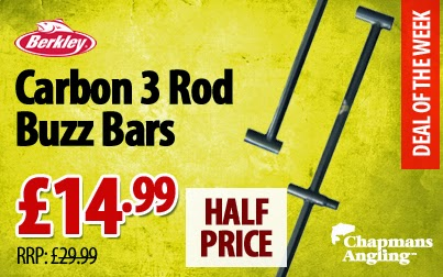 Berkley Carbon 3 Rod Standard Buzz Bars