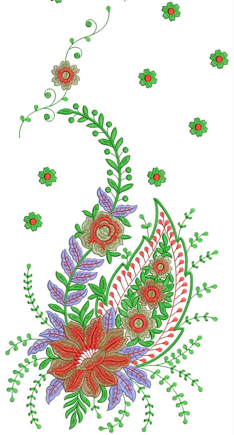 22 beautiful free hand embroidery designs for sarees makaroka embdesigntube daman type dress amp indian sarees embroidery bankloansurffo Images