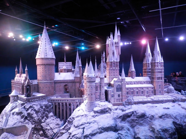 Hogwarts in the snow. secondhandsusie.blogspot.co.uk