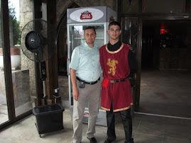 """Alături de """"cavalerii medievali"""" (ospătarii), 24.VI.2011..."""