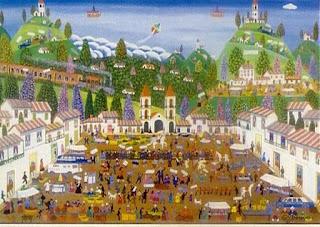 Pintores Colombianos Arte Naif
