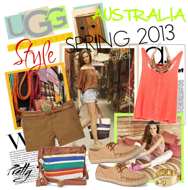 UGG Australia Spring 2013 Collection