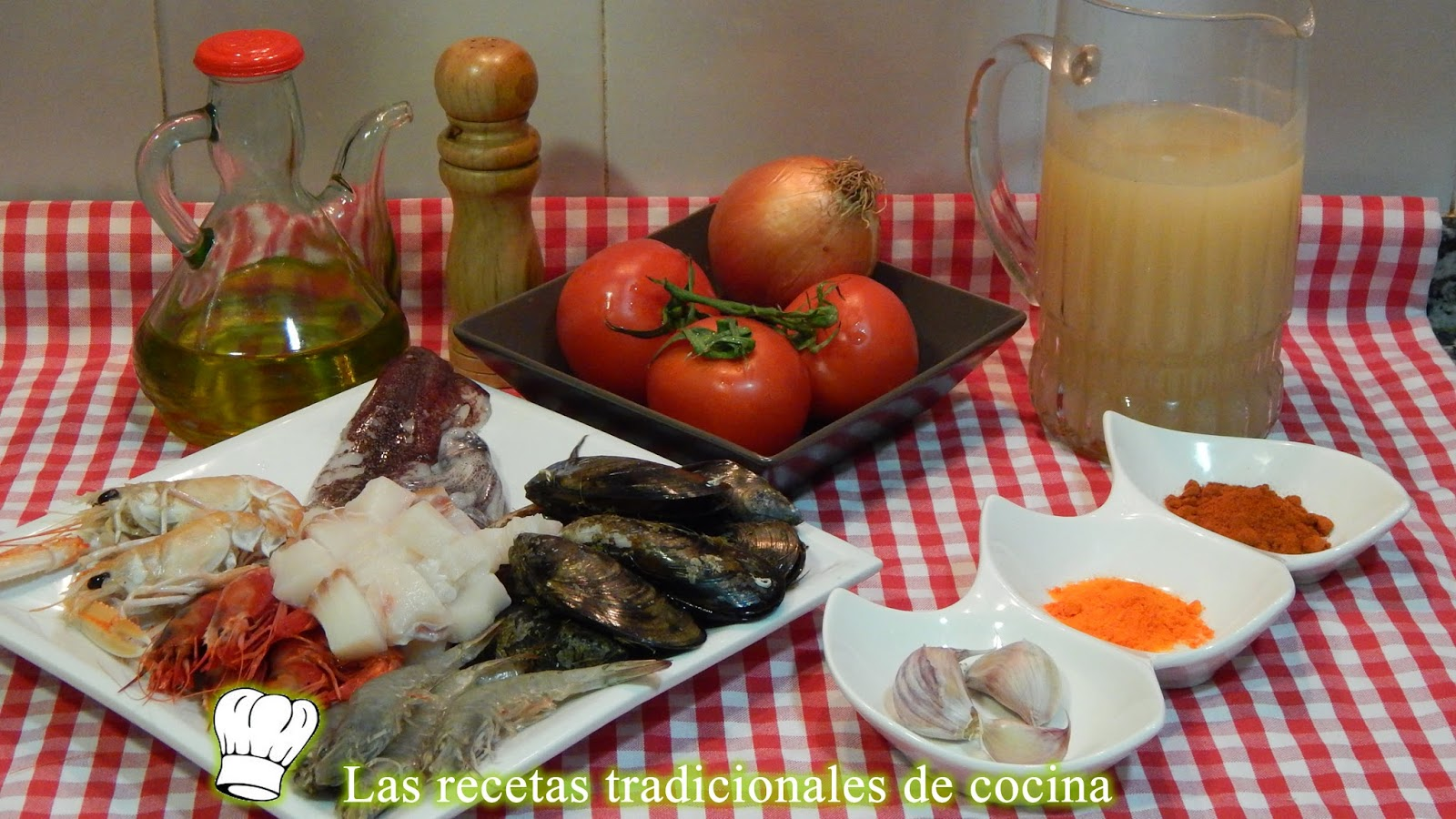 Receta fácil y rápida de sopa de marisco