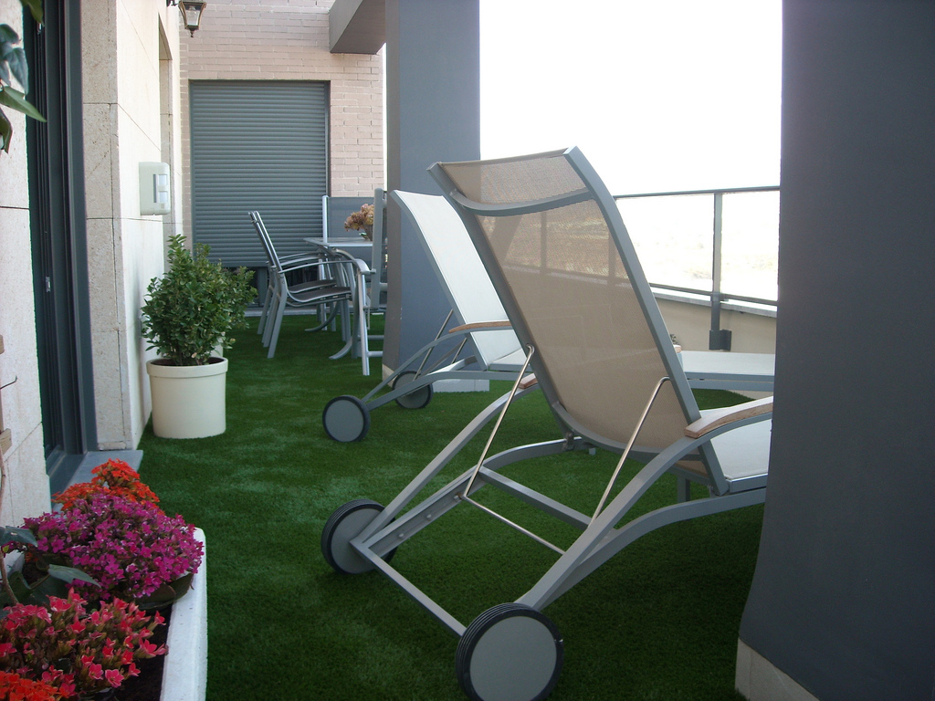 Ideas Decoracion Terraza Cesped Artificial ~ cesped artificial
