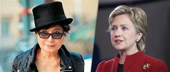 Σάλος από την είδηση της ερωτικής σχέσης της Γιόκο Όνο με τη Χίλαρι Κλίντον!