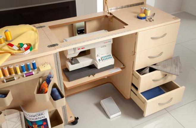 Seoanetextil muebles para m quinas dom sticas - Mesas para costura ...