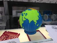 3D model of the globe