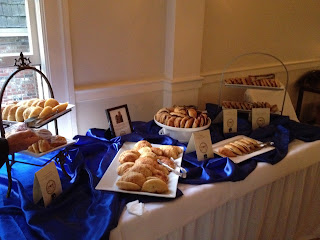 Hand pies wedding display