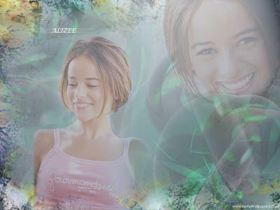Alizee hollywood wallpaper