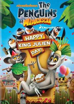 Los Pingüinos de Madagascar: Feliz Día Del Rey Julien – DVDRIP LATINO