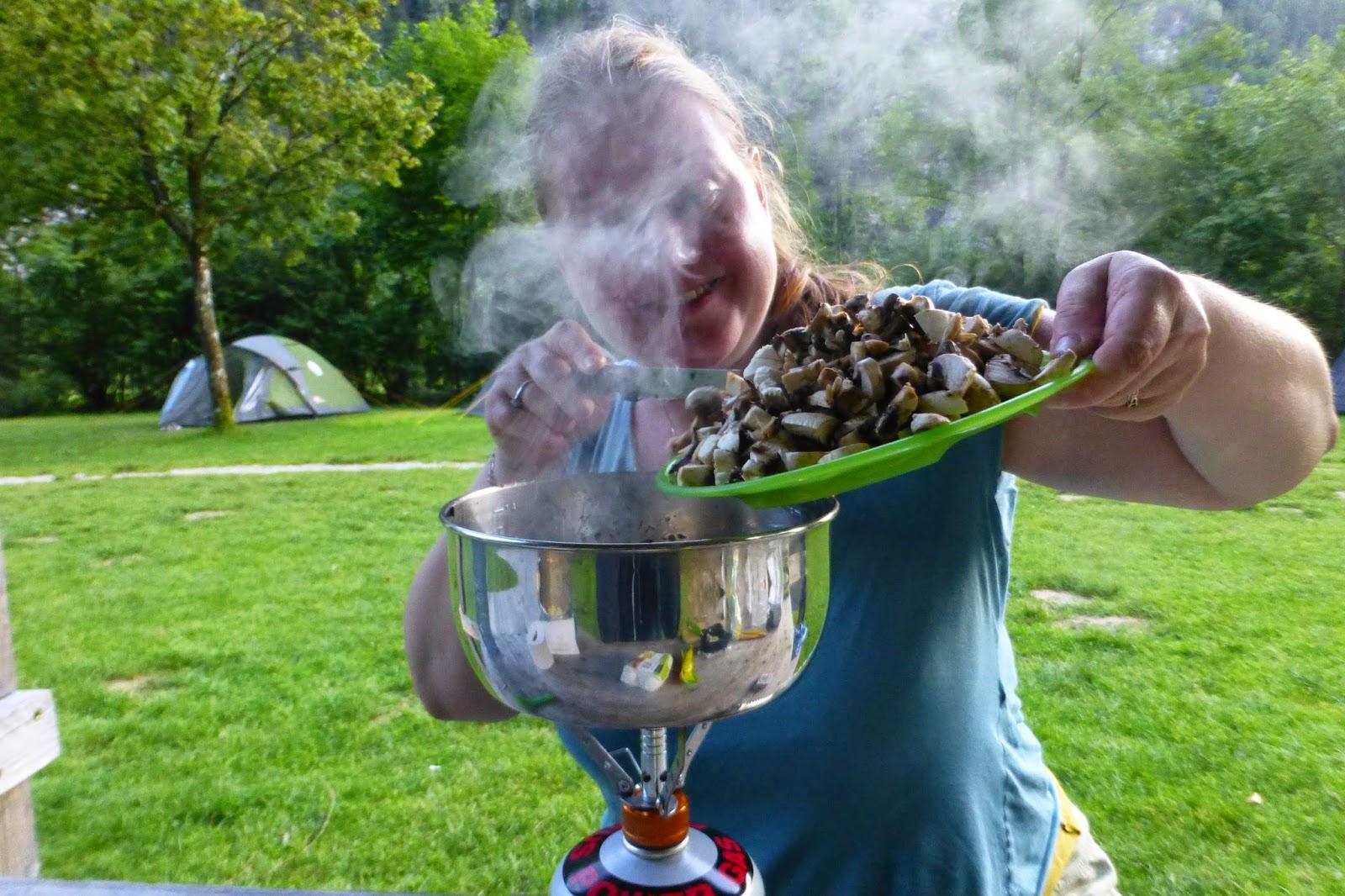 kochen beim campen