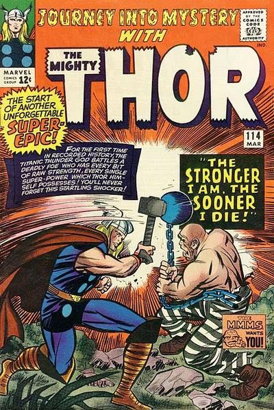 Journey into Mystery #114, Thor vs the Absorbing Man