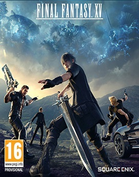 Final Fantasy XV - Windows Edition Jogos Torrent Download capa