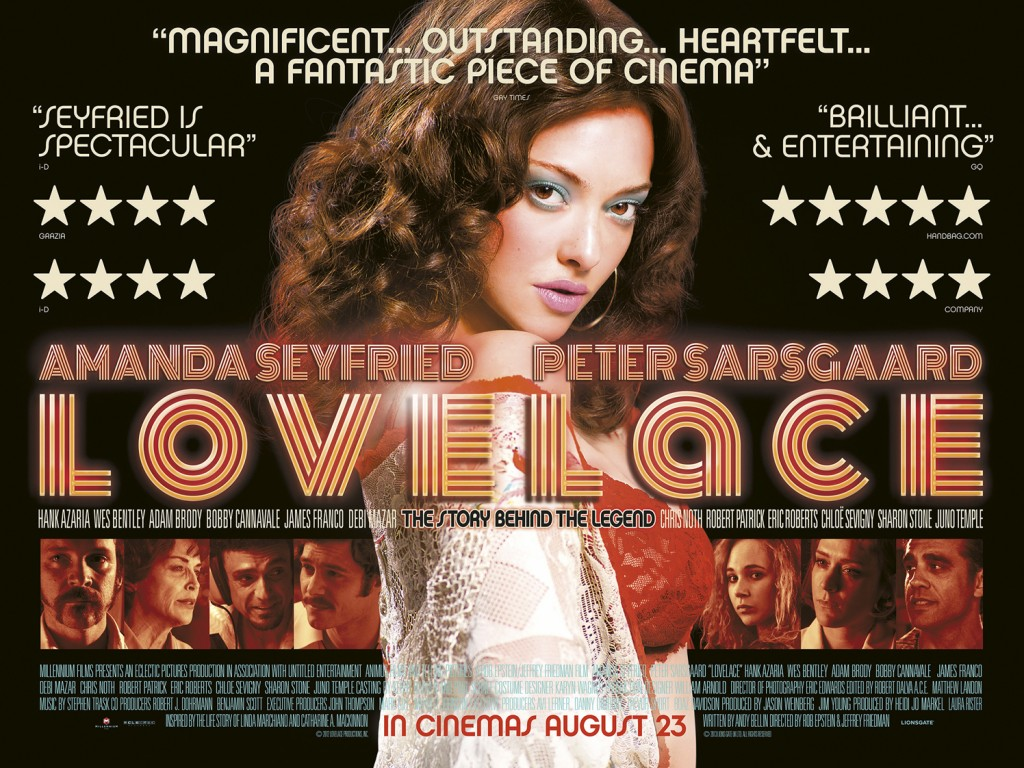 Lovelace,cartel,pelicula