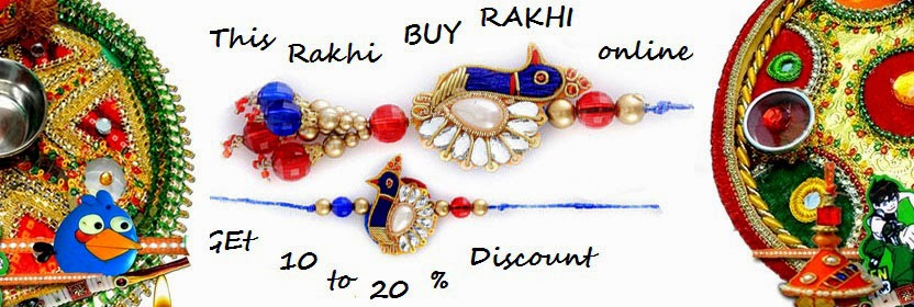 Buy Rakhi GET 10 to 20% Discount