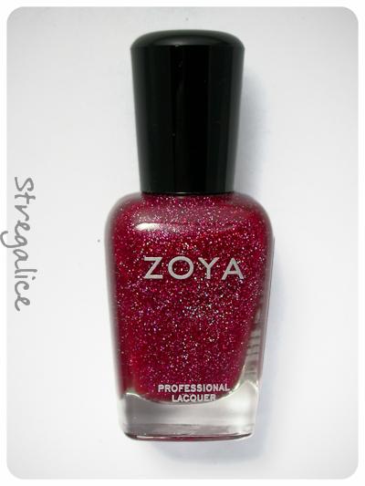 Zoya Blaze red holographic