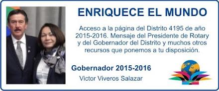 Año 2015-2016 | ENRIQUECE EL MUNDO