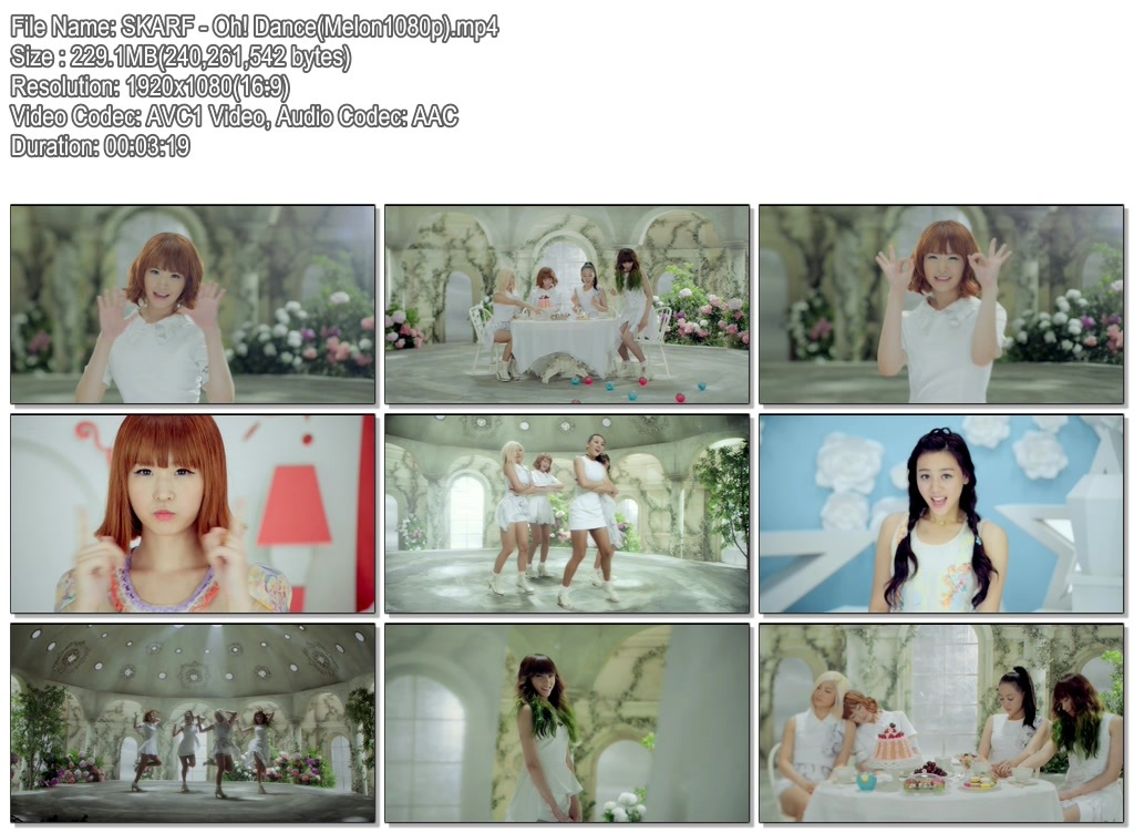 [MV] SKARF – Oh! Dance (Melon Full HD 1080p)