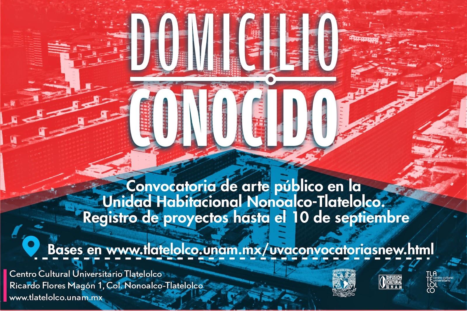 Convocatoria al concurso de arte por los 50 años de la U.H. Nonoalco Tlatelolco