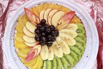 банан , яблоко.киви,виноград