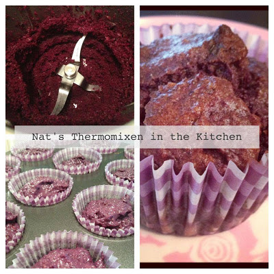 ... in the Kitchen: Purple Carrot & Date Muffins | Thermomix recipes