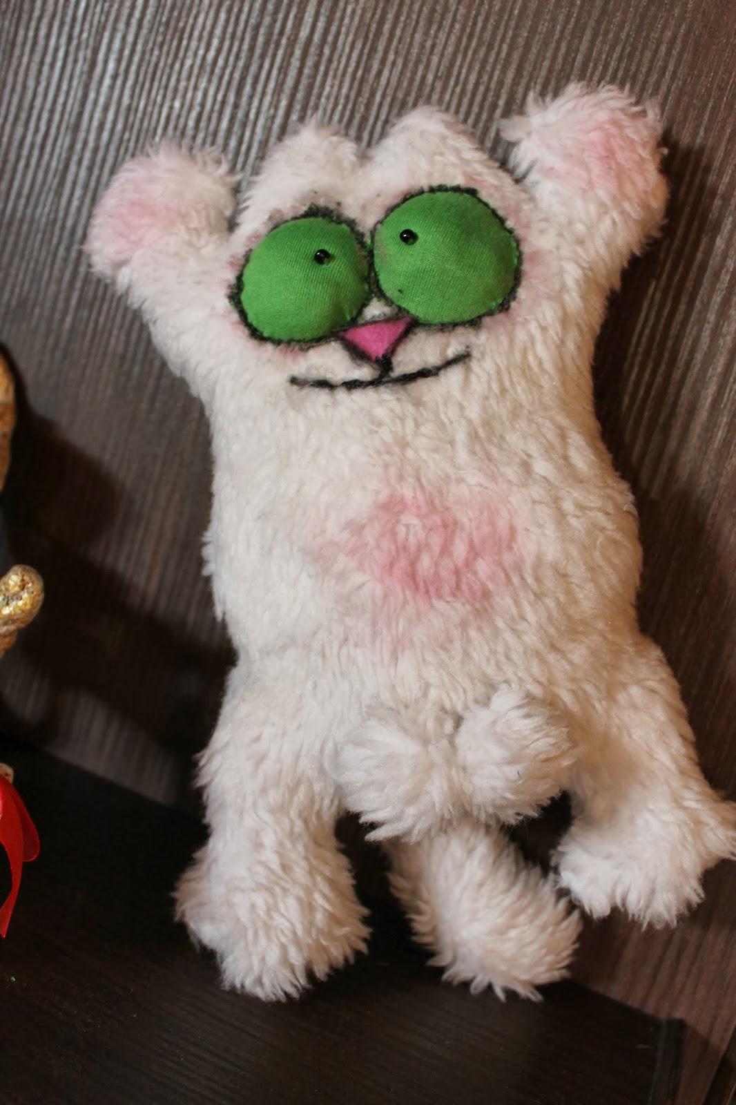 Кот Саймона снежный, волосатый