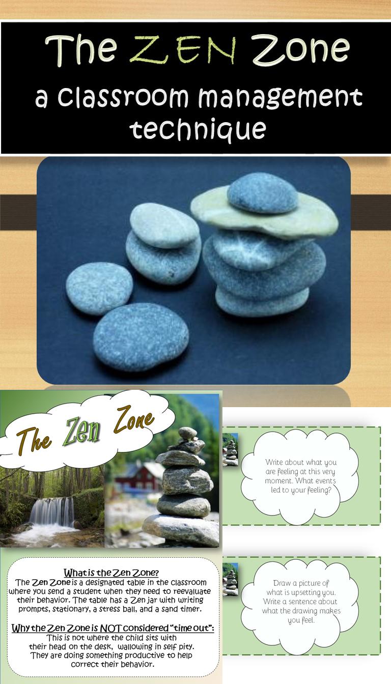 Zen Classroom Decor ~ Studentsavvy flash freebie the zen zone