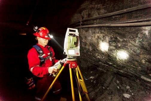 Underground Surveying Or Mine