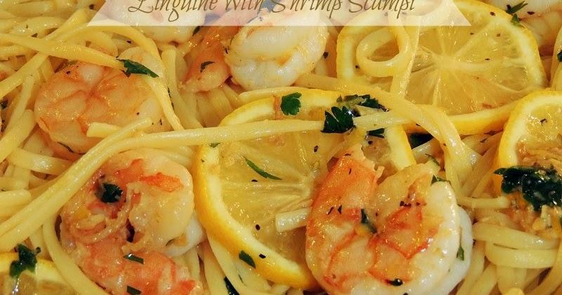Linguine With Shrimp Scampi Bobbi 39 S Kozy Kitchen