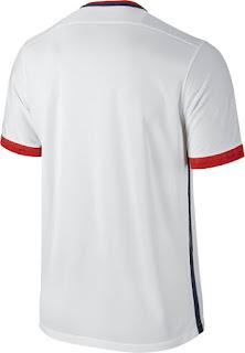 Detail Jersey PSG away terbaru musim depan 2015/2016 Official bagian belakang di enkosa sport toko jersey online terpercaya