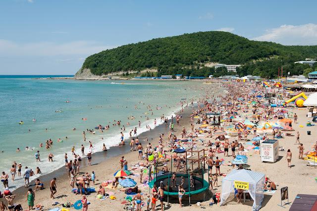 Пляжные курорты Крыма
