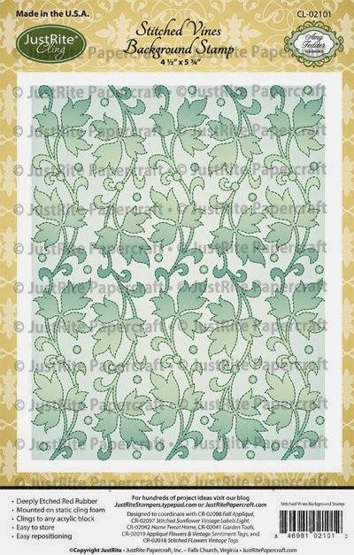 http://justritepapercraft.com/collections/2014-july-release/products/stitched-vine-cling-background-stamp