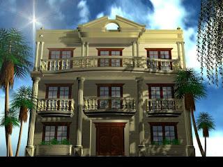 تصاميم منازل خليجية 2013