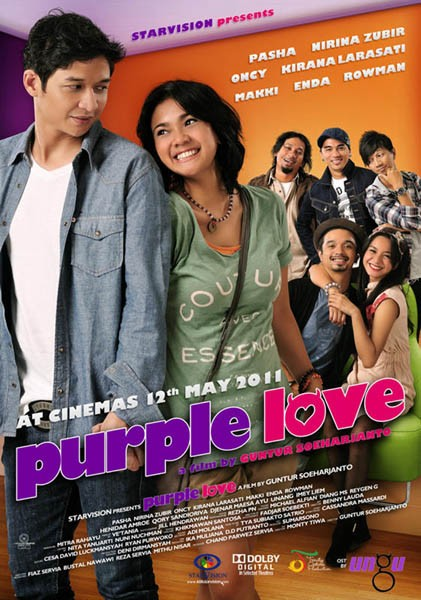 Film Purple Love - Film ungu Band