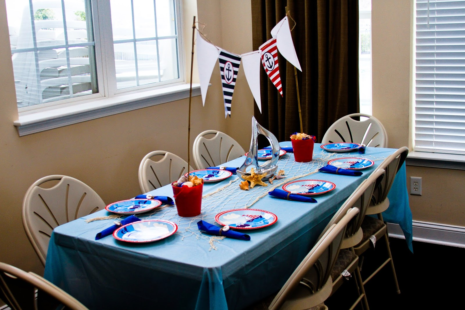 giggle bean nautical themed baby shower