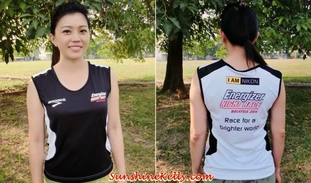 Energizer Night Race 2014 Running Vest, Energizer Night Race 2014, running vest, running sleeveless tee, running, night race, night run